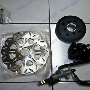COMPLETE KIT REAR DISC BRAKE FOR YAMAHA FZ16
